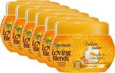 Garnier Loving Blends Argan & Camelia Haarmasker - 6 x 300 ml - Voordeelverpakking