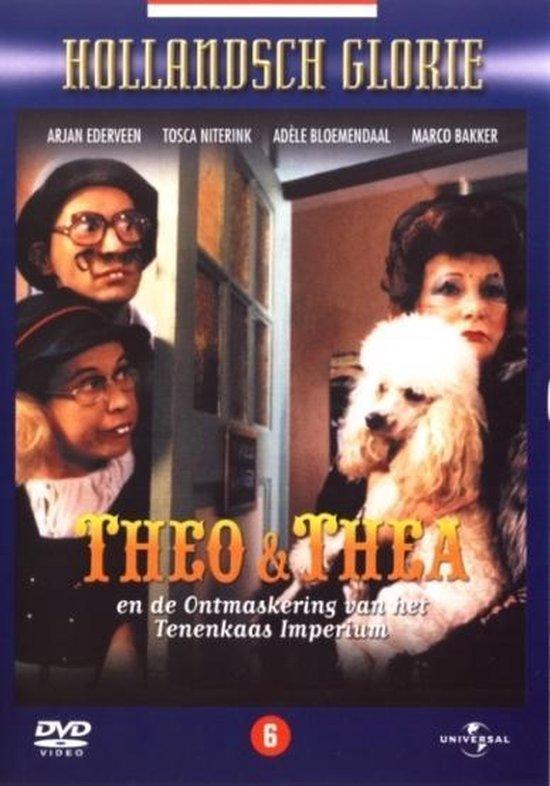 Cover van de film 'Theo & Thea - Ontmaskering Van het Tenenkaasimperium'