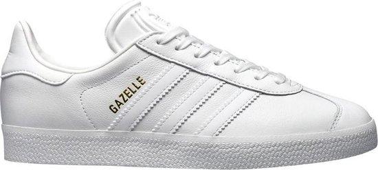 adidas Gazelle Sneakers Heren Sportschoenen - Maat 44 - Mannen - wit/goud