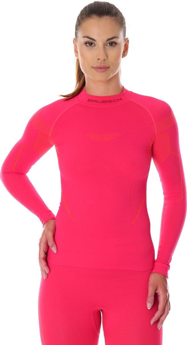 Dames Thermoshirt - Thermokleding - met Nilit® Innergy-Raspberry-S