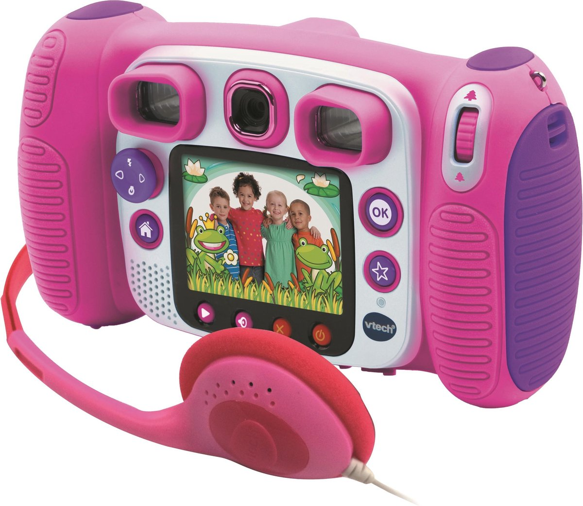 VTech KidiZoom Duo 5.0 Megapixel Roze - Kindercamera - VTech