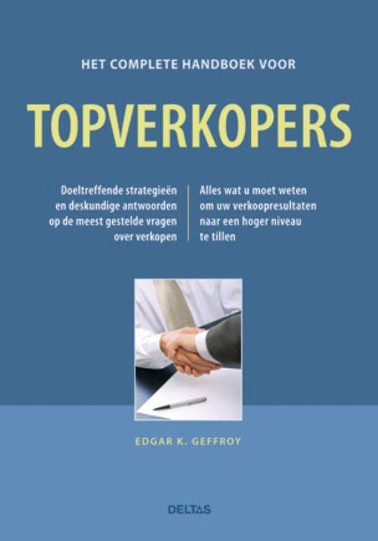 Cover van het boek 'Het complete handboek voor topverkopers'