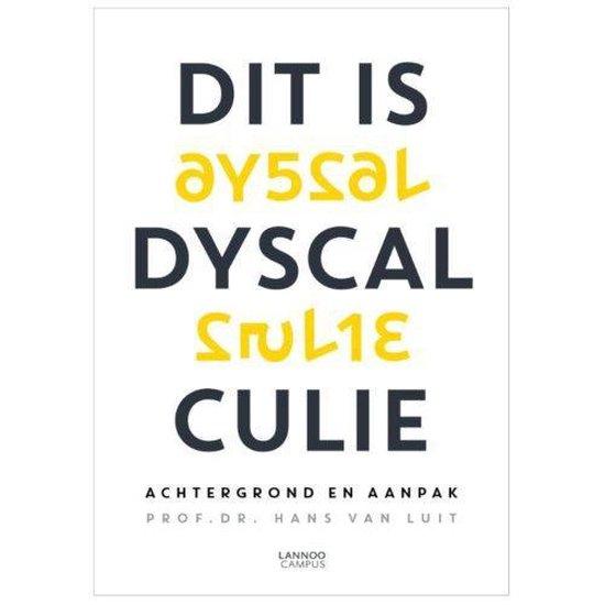 Boek cover Dit is dyscalculie van Hans van Luit (Paperback)