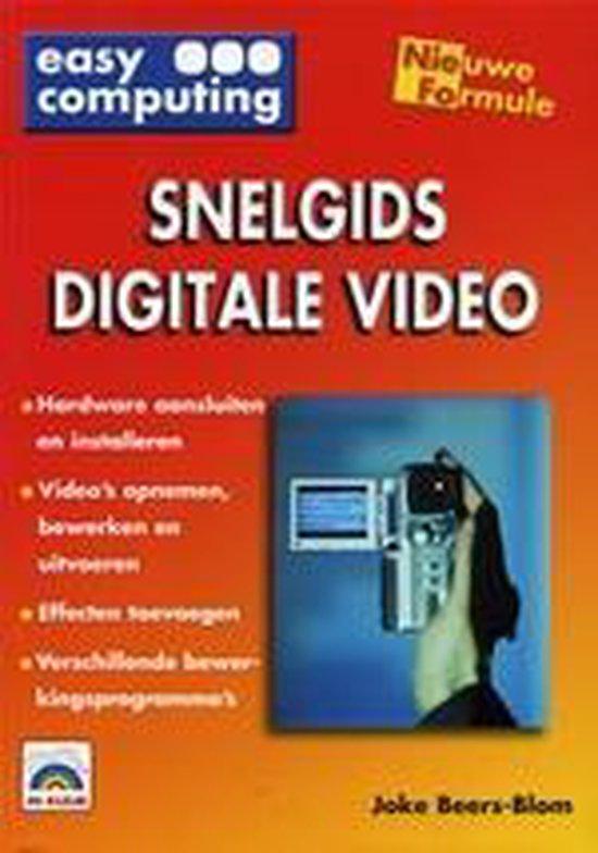 Cover van het boek 'Snelgids digitale video'