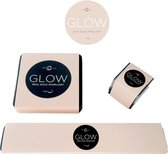 Glow hanger hart- geelgoud 14 kt - 7 x 8 mm