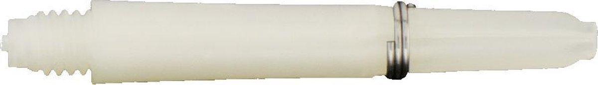 Bull's Nylon Shaft 34 Mm Wit 3 Stuks