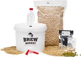 Brew Monkey Bierbrouwpakket - Basis Wit  - Zelf bier brouwen - Bier brouwen startpakket - Vaderdagcadeau