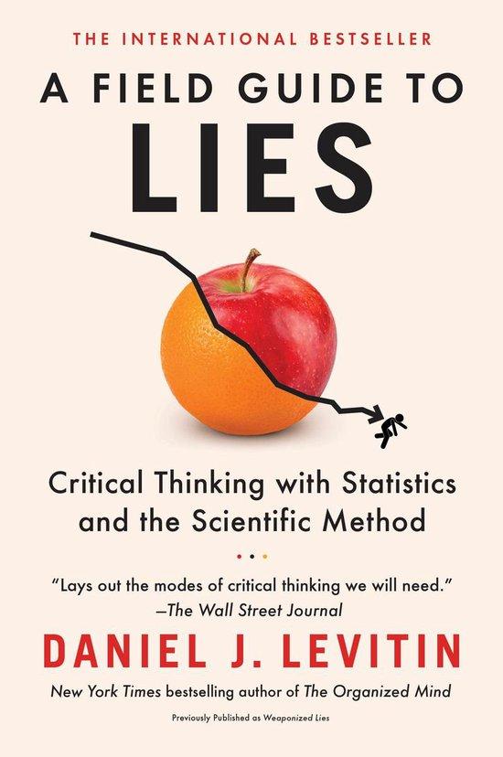 Boek cover A Field Guide to Lies van Daniel J. Levitin (Onbekend)