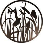 Esschert Design Muurdecoratie vogels