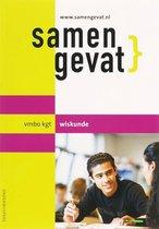 Boek cover Samengevat vmbo-kgt wiskunde van F.C. Luijbe (Paperback)