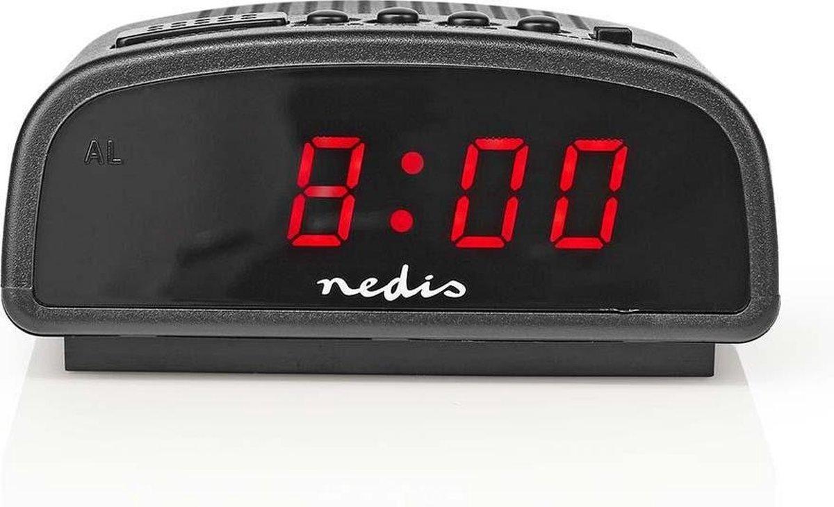 """Digitale wekker Alarm Clock 0.6"""" LED display met Snooze"""