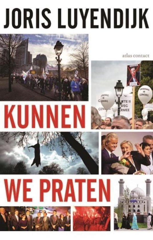 Boek cover Kunnen we praten van Joris Luyendijk (Paperback)