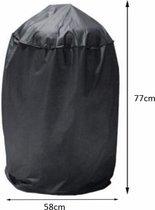 Housse de protection barbecue 160 x 68 x 120 cm Noire