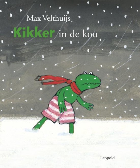 Boek cover Kikker - Kikker in de kou van Max Velthuijs (Hardcover)