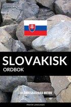 Slovakisk ordbok: En ämnesbaserad metod