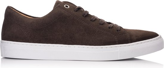 OMNIO VELO SNEAKER ECO Dk.brown Suede Leather - 45