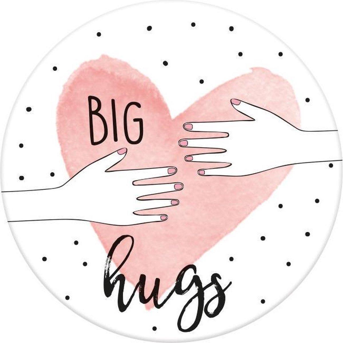 Moses Magneet Big Hugs 5,5 Cm Rond
