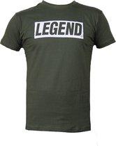 Legend Sports Unisex T-shirt Maat M
