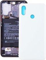 Let op type!! Achtercover voor Xiaomi Mi 8 (wit)