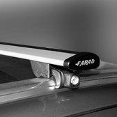 Dakdragers Audi Q3 2011 t/m 2018 met gesloten dakrails - Farad wingbar