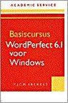 BASISCURSUS WORDPERFECT 6.1 VOOR WINDOWS