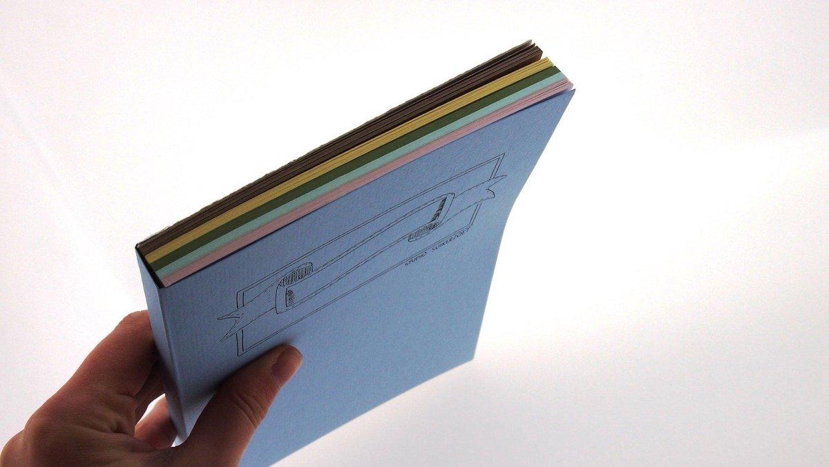 Handlettering oefenblok in A5-formaat - In 5 pastelkleuren: lichtroze, legergroen, zeegroen, creme en kraft bruin