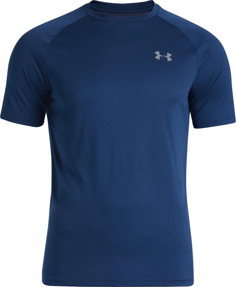 Under Armour Tech 2.0 S/S Tee Sportshirt Heren - Maat L