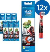 Oral-B Stages Power Kids Star Wars - 12 stuks - Opzetborstels
