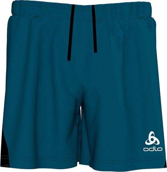 Odlo Shorts Element Light Heren Sportbroek - Blue Opal - Maat S