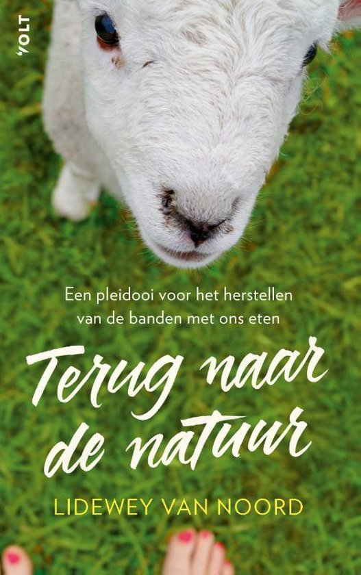 Boek cover Terug naar de natuur van Lidewey van Noord (Paperback)