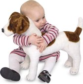 Melissa & Doug Grote Pluche Jack Russell Terrier