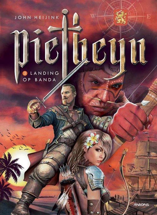 Piet heyn Hc03. landing op banda - John Heijink   Fthsonline.com