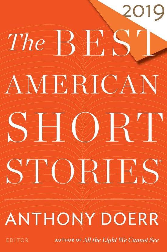 Omslag van The Best American Short Stories 2019