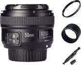 Yongnuo AF-S 50mm F1.8 autofocus lens Nikon DSLR camera