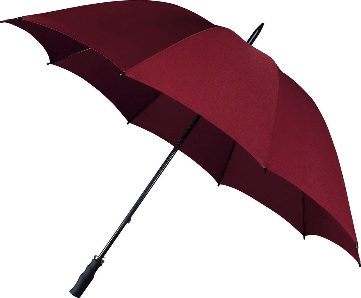 Golf Extra Strong Paraplu - Ø 130 cm - Bordeaux Rood