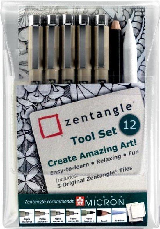 Sakura Zentangle Original Tool Set 12