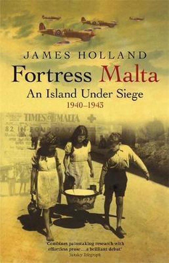 Boek cover Fortress Malta van James Holland (Paperback)