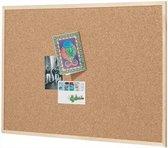 Afbeelding van Kurk24 Prikbord - Houten lijst - 90 x 60 cm