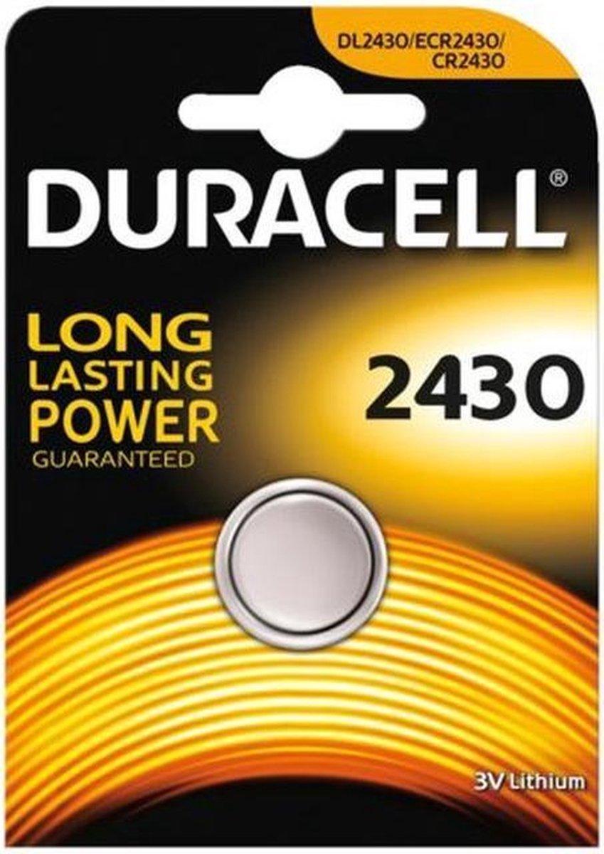 Duracell Knoopcel Batterij 2430 - Niet Oplaadbaar - Duracell
