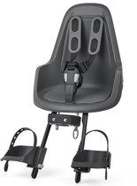 Bobike One Mini Fietsstoeltje Voor - Urban Grey