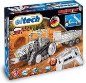 Eitech Constructie - Bouwdoos - Bestuurbare Tractor Met Aanhange