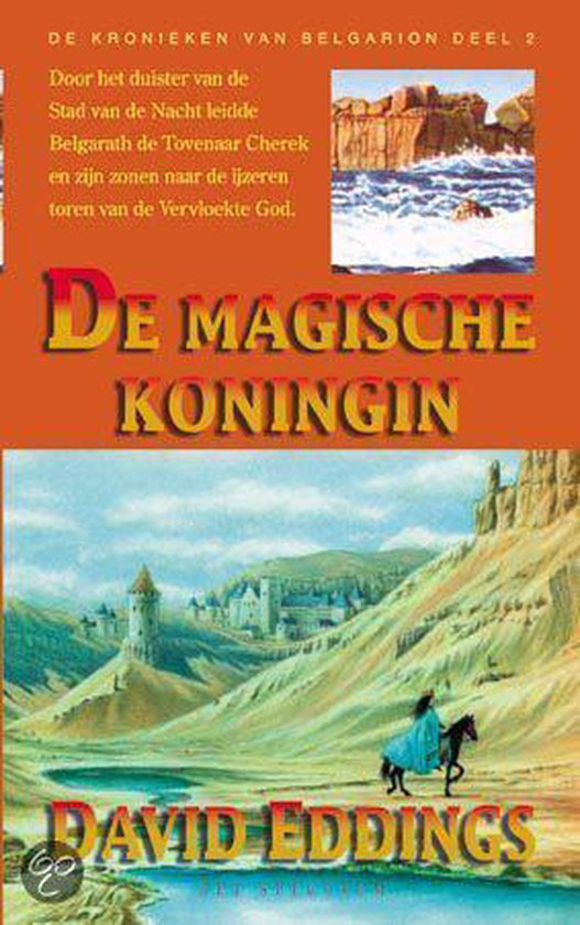Cover van het boek 'De magische koningin' van David Eddings