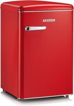 Severin RKS 8830 - Retro Tafelmodel Koelkast - rood