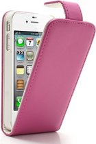 PU Lederen Flip Hoesje Apple iPhone 4 | 4S Rose
