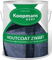 Koopmans Beits Houtcoat Zwart Mat 2.5L