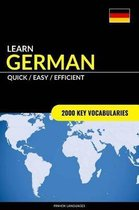 Learn German - Quick / Efficient / Simple