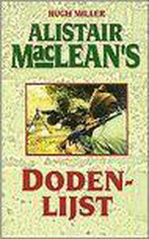 Alister maclean's dodenlijst - Hugh Miller |
