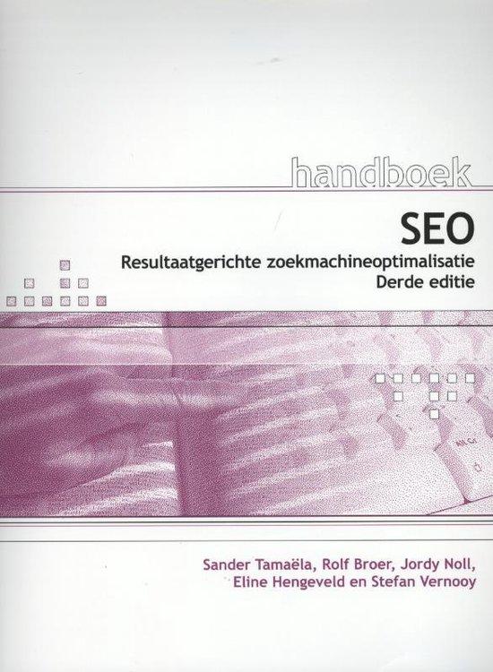 Handboek - Handboek SEO - Sander Tamaëla |