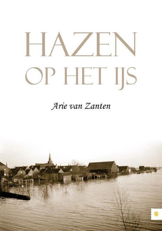 Cover van het boek 'Hazen op het ijs' van Arie van Zanten