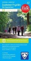 Falk wandelkaart 12 - Nationaal landschap Zuidwest Fryslân met Gaasterland